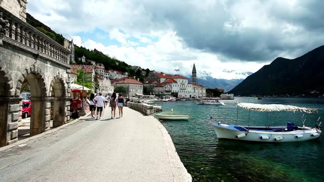 Perast - resort town of Montenegro