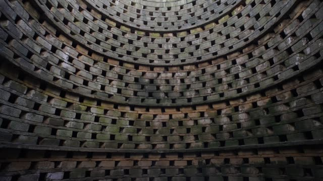 perches inside an ancient dovecote, brittany. - david johnson stock videos & royalty-free footage