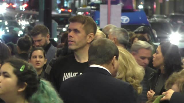 """perez hilton outside the opening night of disney's """"frozen"""" at hollywood pantages theatre at celebrity sightings in los angeles on december 06, 2019... - pantages theater stock videos & royalty-free footage"""
