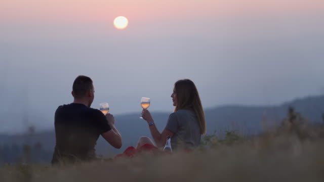 perfect date - white wine stock videos & royalty-free footage