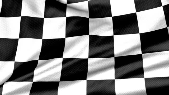 perfect loop: checkered flag - checked pattern stock videos & royalty-free footage