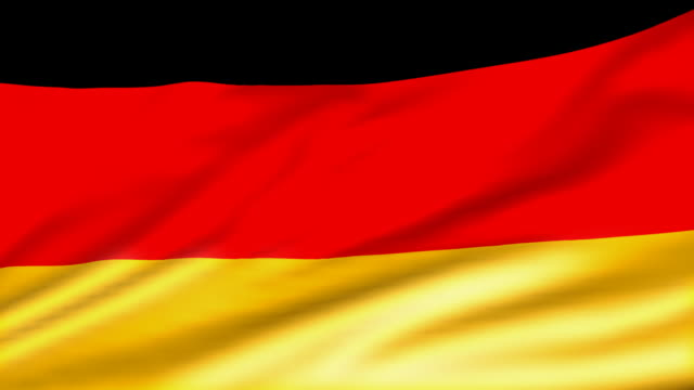 perfect loop german flag - germany stock videos & royalty-free footage