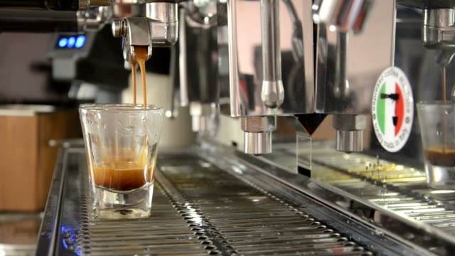 perfect shot coffee extraction - espresso stock videos & royalty-free footage