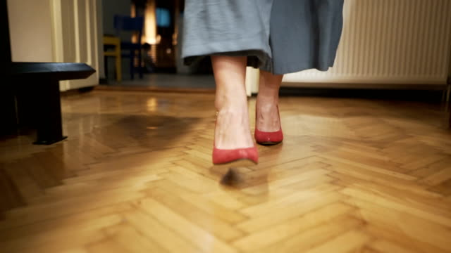 perfect stilettos - human foot stock videos and b-roll footage
