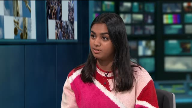 'period poverty' campaigner to challenge government over provision of free menstrual products to schoolgirls england london gir int amika george live... - menstruation stock videos & royalty-free footage