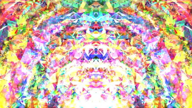 transcendent circulation : peripheral, bottom, mid, symmetric, vibrant(loop) - aura stock videos & royalty-free footage