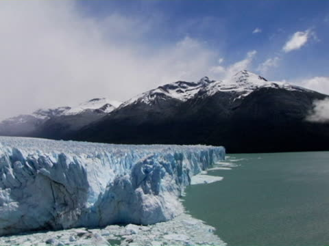 t/l, ms, perito moreno glacier, argentina - stationary process plate stock videos & royalty-free footage