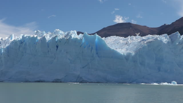 perito moreno glacier in patagonia - argentinian culture stock videos & royalty-free footage