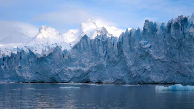 perito moreno glacier south part - icicle stock videos & royalty-free footage