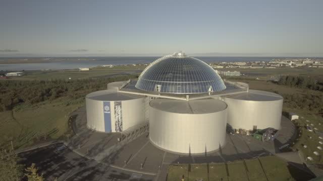 vídeos y material grabado en eventos de stock de perlan museum - cúpula