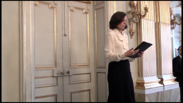 permanent secretary of the swedish academy sara danius announces that us singer-songwriter bob dylan won the 2016 nobel prize in literature during a... - nobel prize in literature stock videos & royalty-free footage