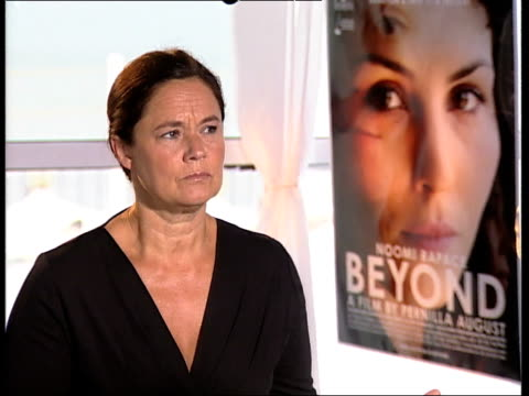 pernilla august on how being an actress has helped her directing at the svinalangorna interviews: 67th venice film festival at venice . - directing stock videos & royalty-free footage