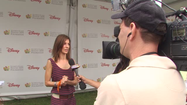 perrey reeves at the 21st annual 'a time for heroes' celebrity picnic benefit at los angeles ca - a time for heroes stock videos & royalty-free footage