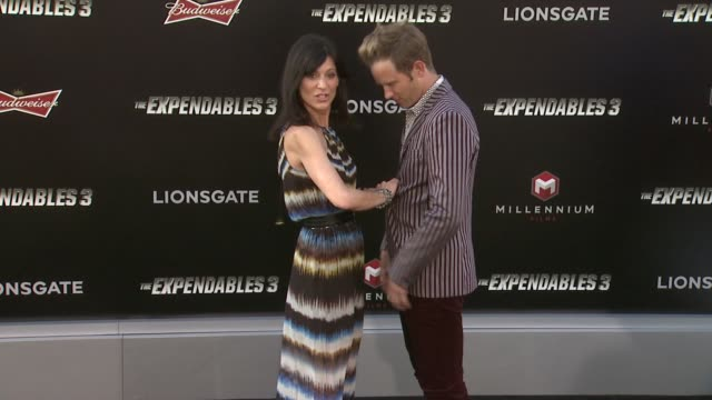 Perrey Reeves at the The Expendables 3 Los Angeles Premiere at TCL Chinese Theatre on August 11 2014 in Hollywood California