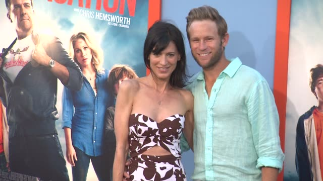 perrey reeves at the vacation los angeles premiere at regency village theatre on july 27 2015 in westwood california - regency village theater stock videos and b-roll footage