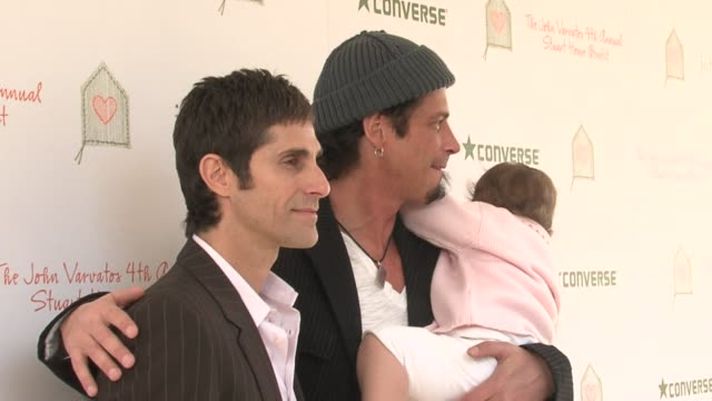 perry farrell and chris cornell at the john varvatos 4th annual stuart house benefit at jthe ohn varvatos boutique in los angeles, california on... - perry farrell stock videos & royalty-free footage