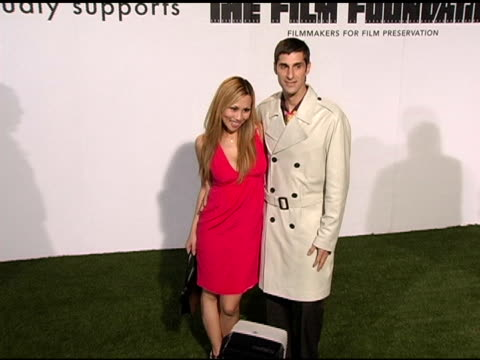 perry farrell and etty farrell at the opening of marc jacobs' three los angeles stores at 8400 melrose place in los angeles, california on march 17,... - perry farrell stock videos & royalty-free footage