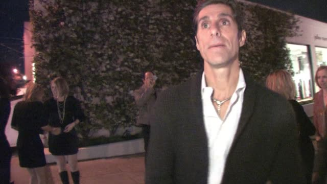 perry farrell at john varvatos at the celebrity sightings in los angeles at los angeles ca. - perry farrell stock videos & royalty-free footage