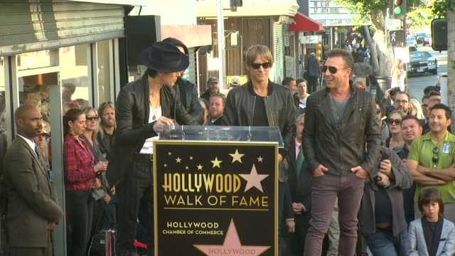 perry farrell on being honored with a star at jane's addiction honored with star on the hollywood walk of fame, on - perry farrell stock videos & royalty-free footage