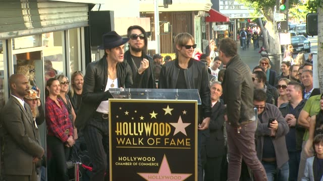 perry farrell on his memories of being in jane's addiction at jane's addiction honored with star on the hollywood walk of fame, on - perry farrell stock videos & royalty-free footage