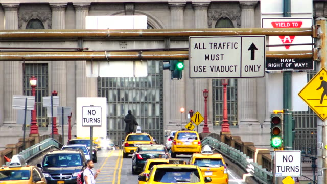 Pershing Square Bridge, Grand Central Terminal, New York City