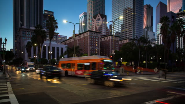 Pershing Square, Los Angeles - Time Lapse