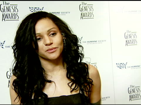 Persia White at the 2008 Genesis Awards at the Beverly Hilton in Beverly Hills California on March 30 2008