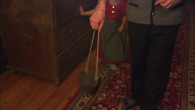 ms person blessing home with incense / near salzburg, austria - incense stock videos & royalty-free footage