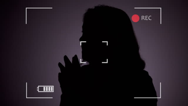 person in witness protection program during police interview - silhouette stock videos & royalty-free footage