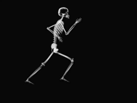 person running - biomedizinische illustration stock-videos und b-roll-filmmaterial