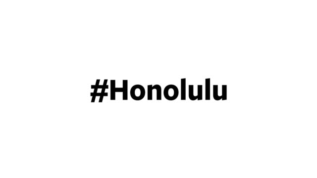 "a person types ""#honolulu"" on their computer screen - capital cities stock videos & royalty-free footage"