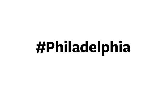 コンピュータ画面に「#philadelphia」と表示されるユーザー - 独立宣言点の映像素材/bロール