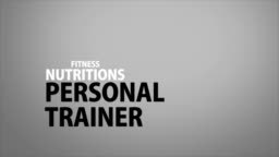 Personal trainer buzzword animation