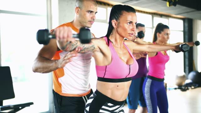 Persoonlijke trainer training.
