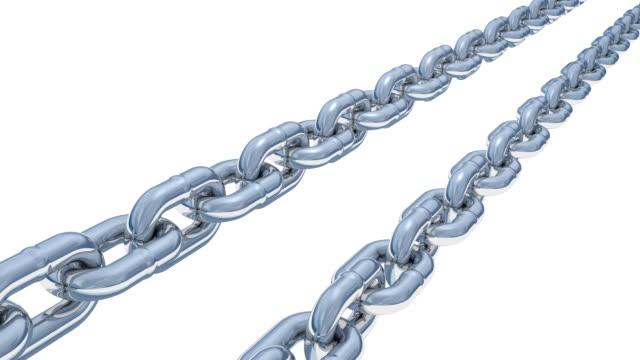 vídeos y material grabado en eventos de stock de punto de vista de las cadenas deslizantes, giratorios (en bucle con canal alfa) - letra x