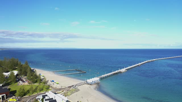 perth busselton jetty - jetty stock videos & royalty-free footage