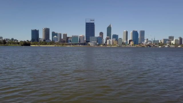Perth CBD and Swan River