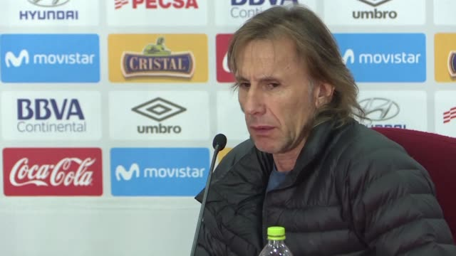 Peru football coach Ricardo Gareca tells reporters he needs time to decide about his future with the team which was eliminated in the first round of...