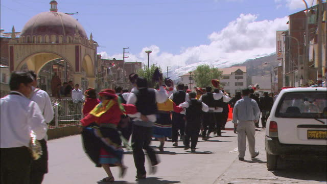 peru huascarán - parade stock videos & royalty-free footage