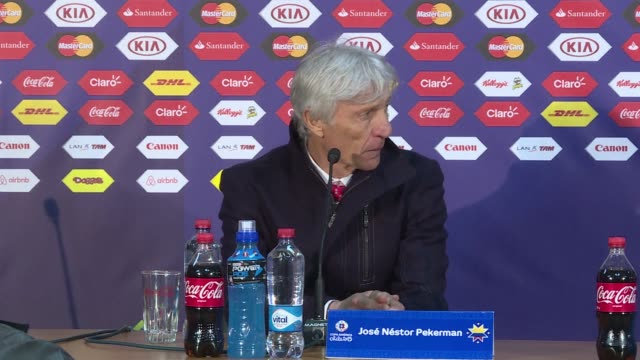 peru national football coach ricardo gareca says the team played to win and didnt seek a nil all draw with colombia that saw the side qualify for... - national team stock videos & royalty-free footage