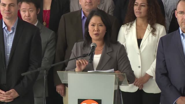 peruvian court on monday rejected a request by keiko fujimori the daughter of ex-president alberto fujimori to close an investigation by the... - request stock videos & royalty-free footage