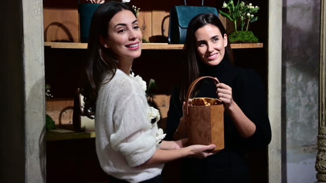 ESP: Alessandra de Osma And Moira Laporta Present Moi&Sass New Bags In Madrid