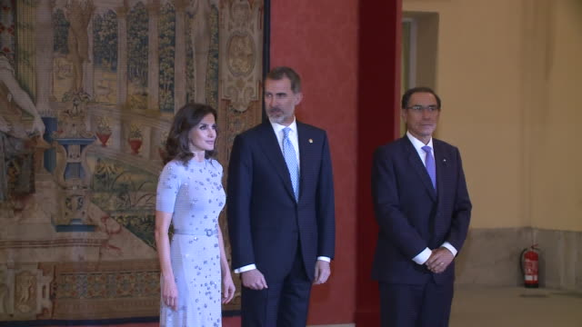 Peruvian President Host A Reception For Spanish Royals Many celebrities also attended the event