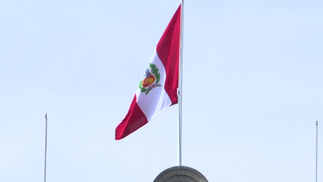 peruvians reacted with indignation wednesday after president pedro pablo kuczynski announced his resignation in an address to the nation with many... - peruvian ethnicity stock videos and b-roll footage