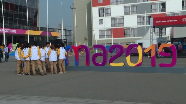 stockvideo's en b-roll-footage met peruvians say they are proud to be hosting the 2019 pan american games in lima and are excited to showcase their culture during the opening ceremony - peruaanse etniciteit