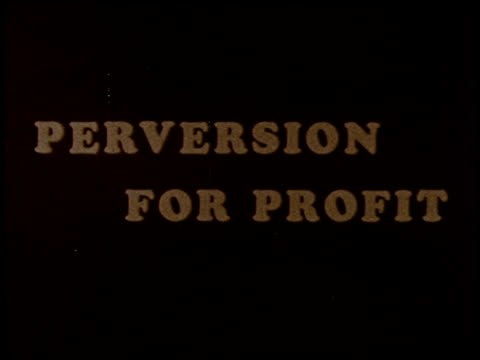 perversion for profit - 1 of 29 - homophobie stock-videos und b-roll-filmmaterial