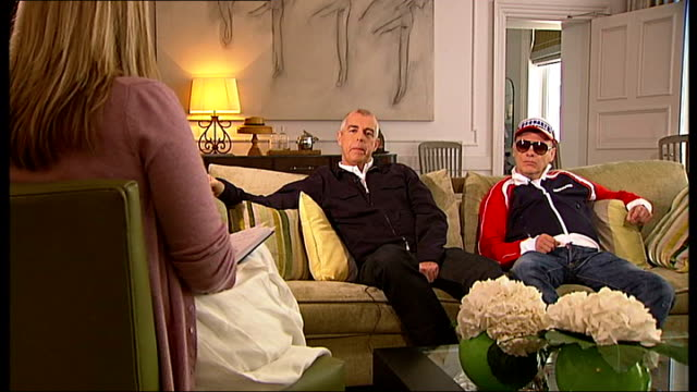 Pet Shop Boys interview Neil Tennant and Chris Lowe interview continues SOT On their past tours / performing at Glastonbury festival