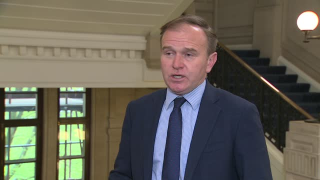 pet theft / local elections: george eustice interview; england: london: westminster: int george eustice mp interview sot re pet theft taskforce: -... - 12 17 months stock videos & royalty-free footage