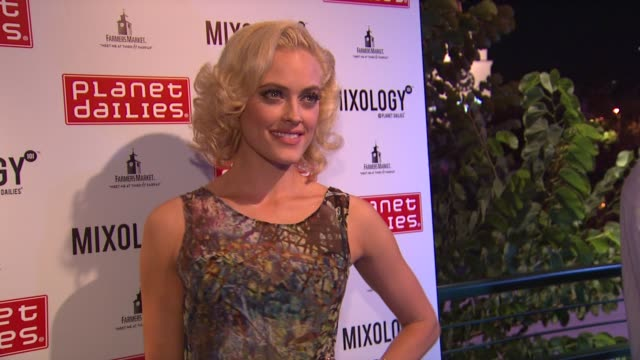 peta murgatroyd at joey fatone and kym johnson host after party for premiere of dancing with the stars at mixology 101 on 9/24/12 in los angeles ca - joey fatone stock videos & royalty-free footage