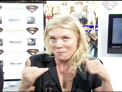 peta wilson on having a small bit part, on bryan singer calling her while she was on holiday to play a cameo, on having a great time, on waiting for... - cameo brooch stock videos & royalty-free footage